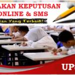 Klik Sini Semakan Keputusan UPSR 2019 Online & SMS