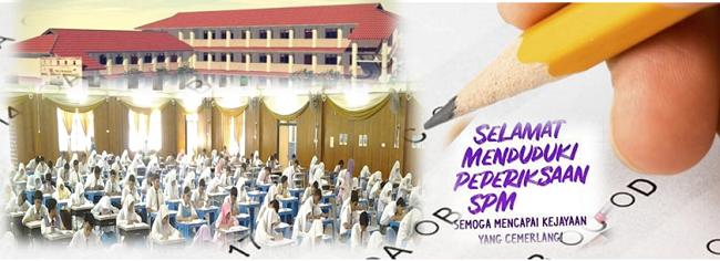 Download jadual peperiksaan SPM online