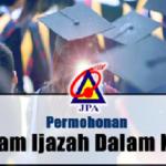 Permohonan Biasiswa JPA Degree Dan Diploma Online