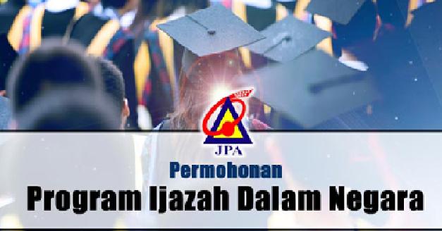 Permohonan biasiswa JPA untuk pelajar degree dan diploma