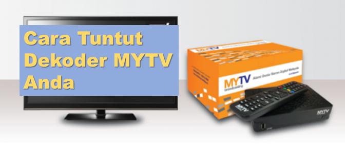 Cara menuntut dekoder MYTV percuma anda