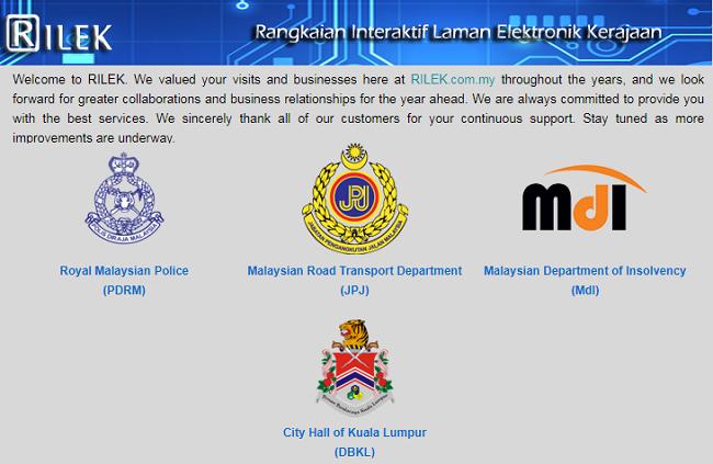 Sistem bayar saman polis online