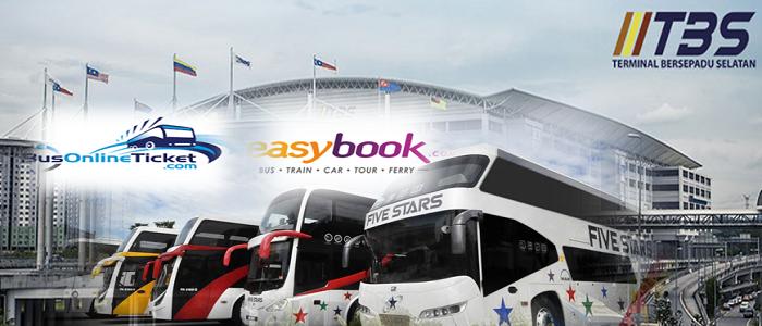 Cara book tiket bas online Malaysia
