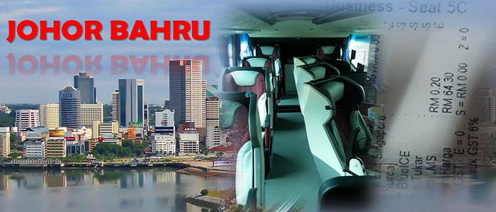 Senarai harga tiket bas ke Johor Bahru online yang terkini