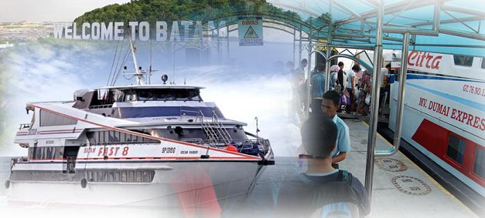 Harga tiket feri ke Batam dari Stulang Laut Johor ke Batam Ferry Center Terminal