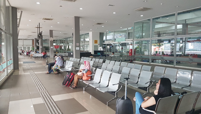 Kuantan Bus Terminal waiting area