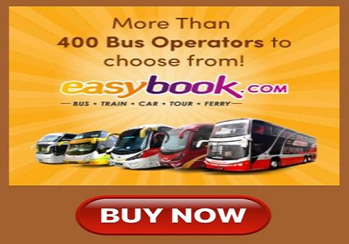 Beli tiket bas secara online guna apps Easybook.com