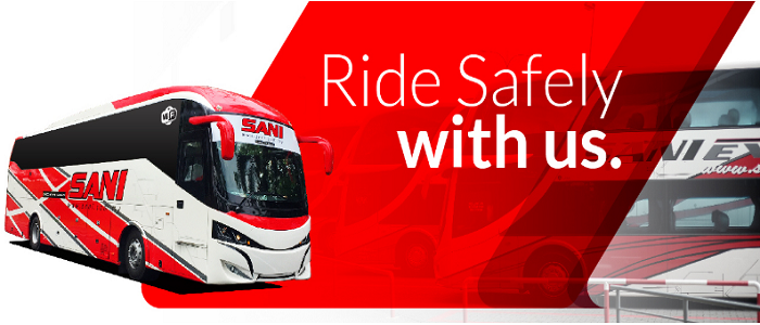 Panduan Sani Express check trip secara online
