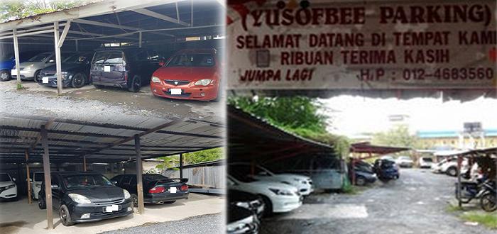 Kemudahan tempat letak kereta di jeti Kuala Perlis