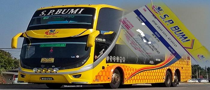 Jadual bas dan harga tiket SP Bumi Express