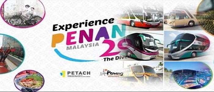 Senarai harga tiket bas ke Penang dari pelbagai destinasi