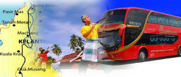 Harga tiket bas ke Kelantan yang terkini