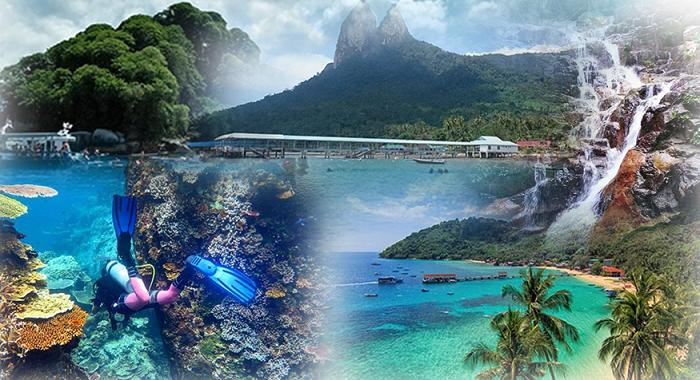 Senarai tarikan pelancong di Pulau Tioman