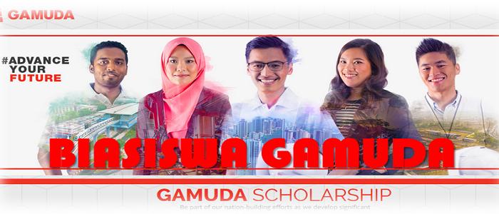 Permohonan online Biasiswa Gamuda untuk pelajar lepasan SPM dan STPM