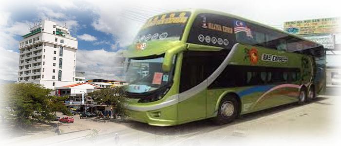 Jadual bas dan harga tiket ke Keningau
