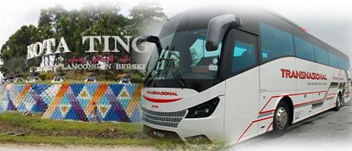 Jadual bas dan harga tiket bas ke Kota Tinggi Johor yang terkini