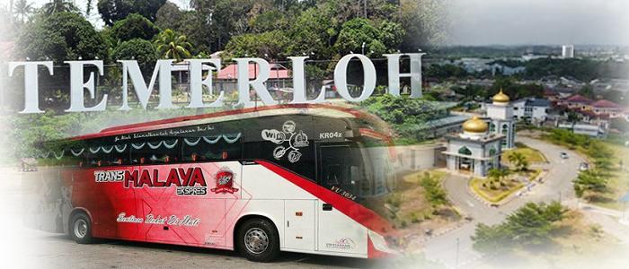 Senarai harga tiket bas ke Temerloh Pahang