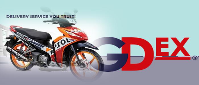 Cara dan harga pos motor guna GDex