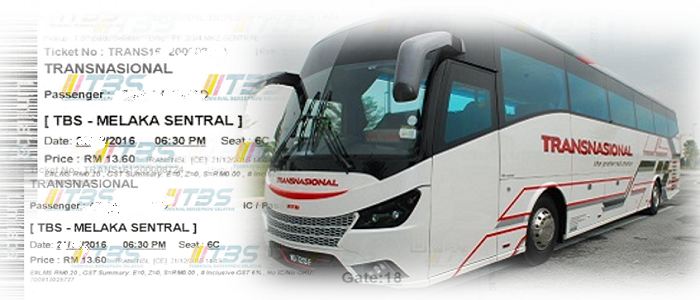 Booking tiket bas online Transnasional Express