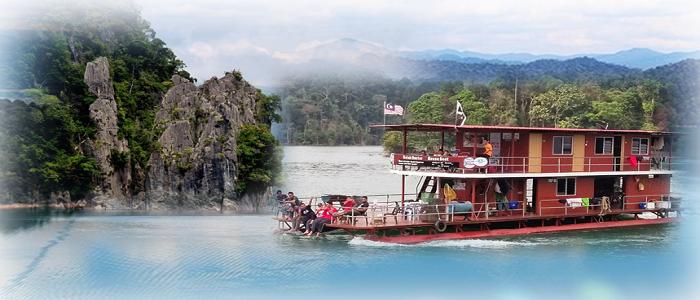Houseboat Tasik Kenyir senarai harga pakej untuk pelancong