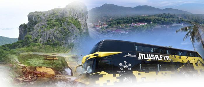 Harga tiket dan jadual bas ke Jeli dari Kuala Lumpur
