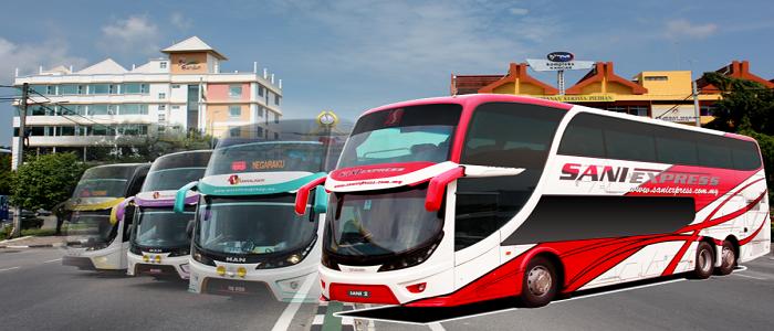 Harga tiket dan jadual bas ke Kangar dari Kuala Lumpur