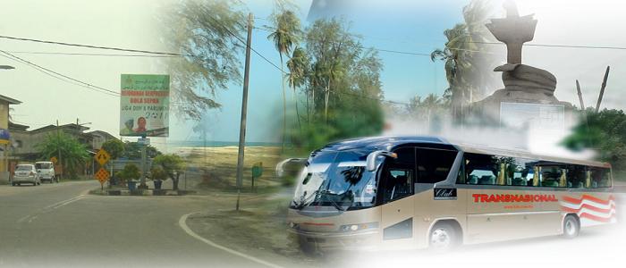 Harga tiket dan jadual bas ke Pasir Puteh Kelantan guna applikasi online