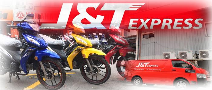 Panduan dan cara pos motor guna J&T Express