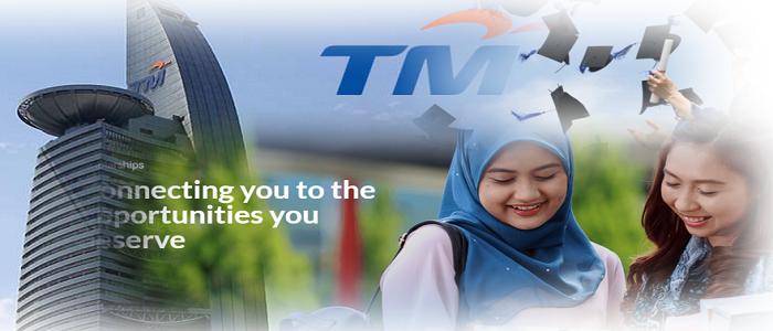 Permohonan dan semakan biasiswa Telekom Malaysia online