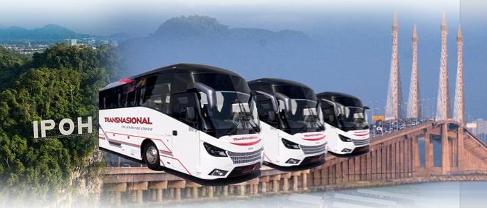 Jadual dan tiket bas Penang ke Ipoh online