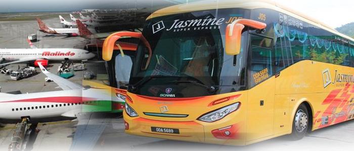 Harga tiket bas Alor Setar ke KLIA KLIA2 online