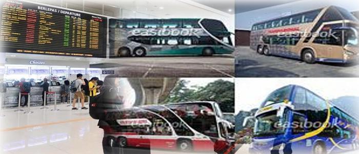 Jadual dan harga tiket bas Ipoh ke TBS online