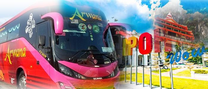 Harga tiket bas Kangar Ke Ipoh