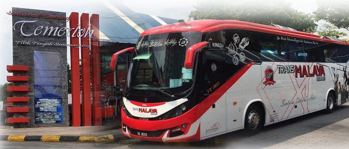 Jadual dan harga tiket bas Pasir Gudang ke Temerloh online