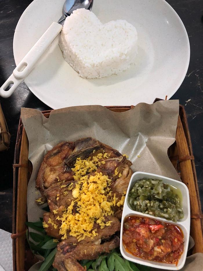 Makanan di Restoran Selera Sambal Pasir Gudang