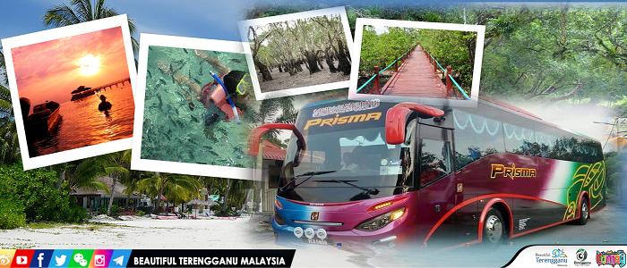 Harga tiket dan jadual bas Johor ke Terengganu online