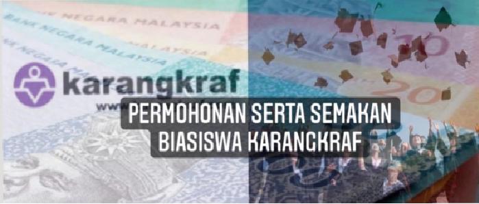 Permohonan Biasiswa Karangkraf online