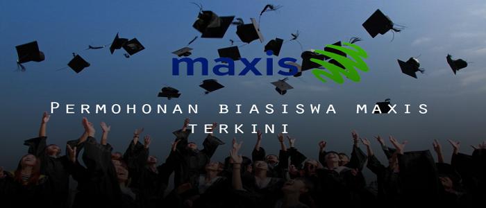 Permohonan biasiswa Maxis online