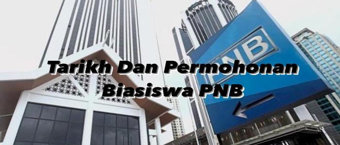 Syarat permohonan biasiswa PNB secara online